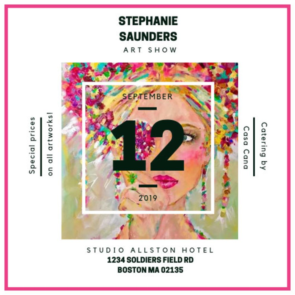 Studio Allston Fall 2019 Art Shows: Stephanie Saunders
