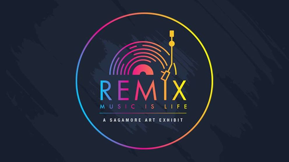 #SagamoreIsArt breathes new life into Music is Life exhibition with Remix
