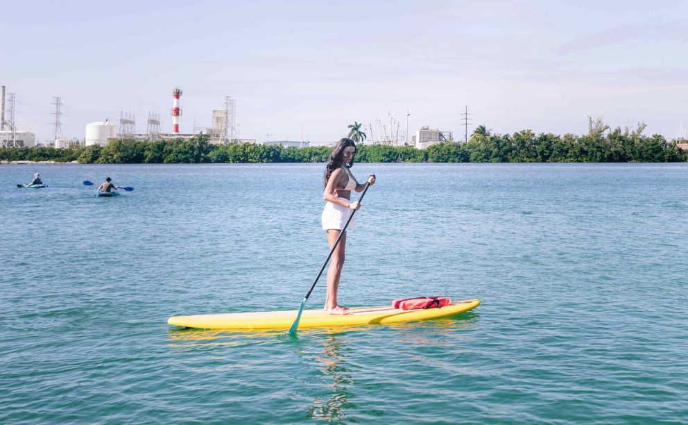 paddleboard at Oceans Edge Resort and Marina