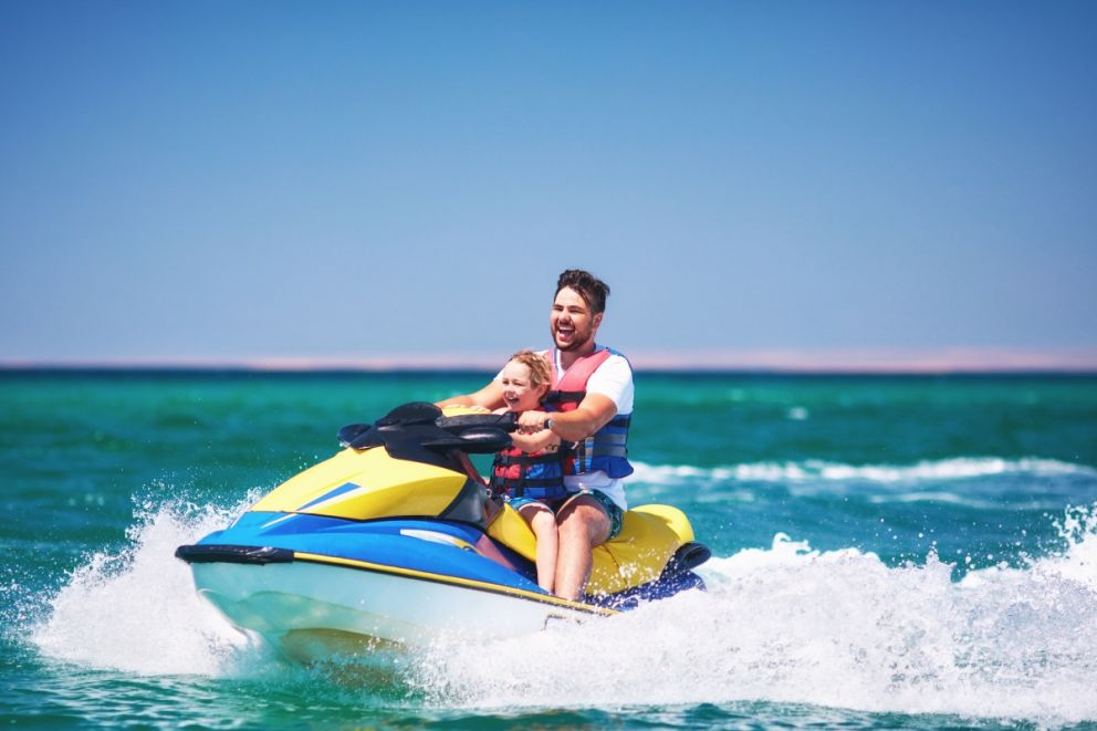 Book jet ski guided tours with Oceans Edge Resort and Marina