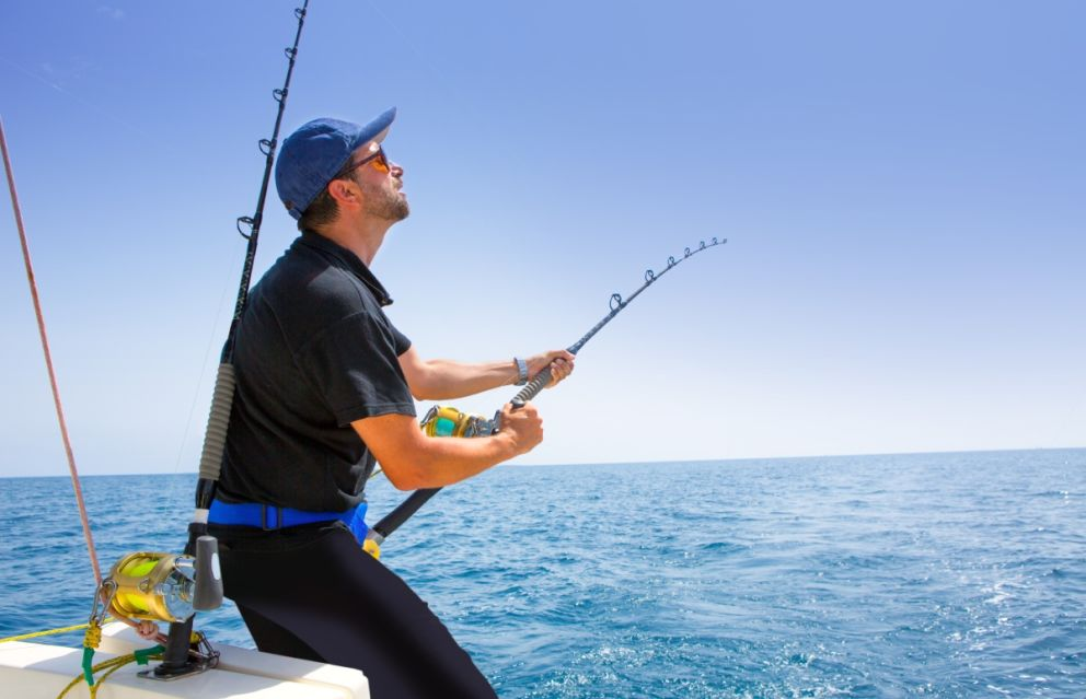 Sport fishing from Oceans Edge Resort and Marina