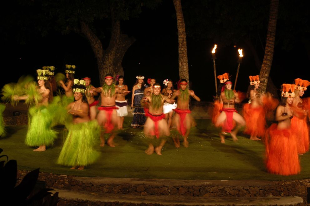 Old Lahaina Luau on maui