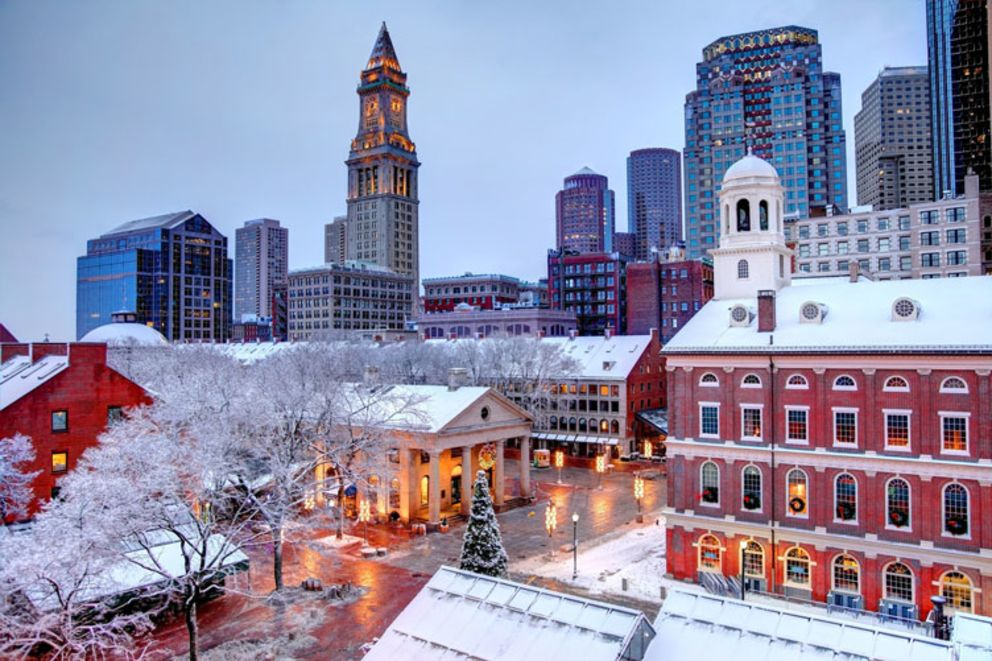 Best Winter Landscapes in Boston