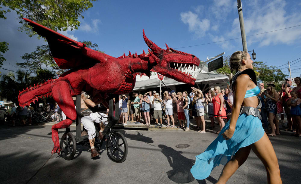 Prepare to Be Amazed at the Annual Kinetic Sculpture Parade