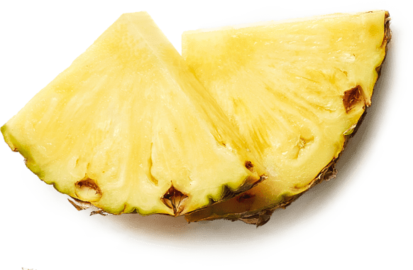 Pinapple slices