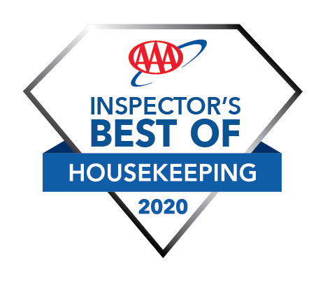 AAA Inspectors Best of Housekeeping 2020 logo