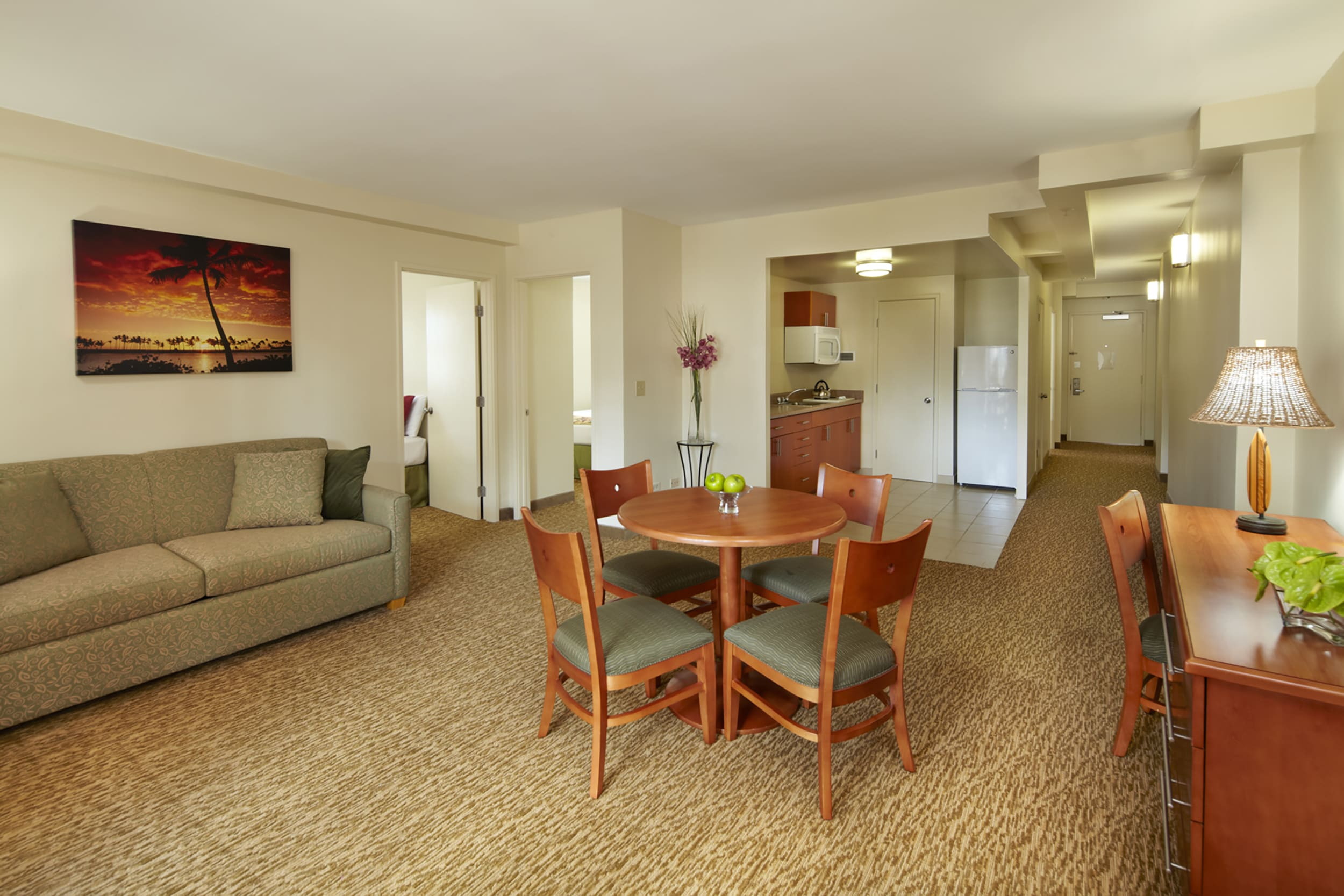 Spacious apartment-style 3 Bedroom suite with all the comforts of home