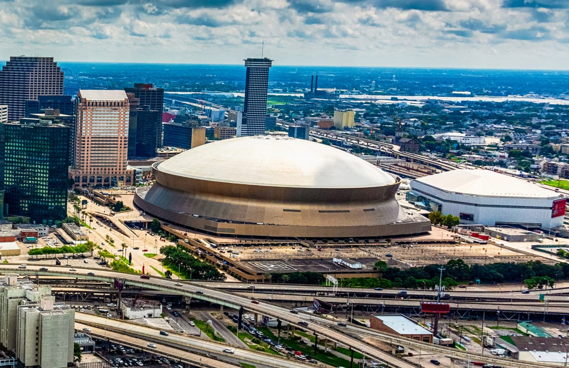 New Orleans Saints Mercedes-Benz Superdome