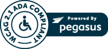WCAG 2.1 ADA Compliant, Powered by Pegasus