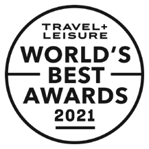 Travel Leasure World's Best Award 2021