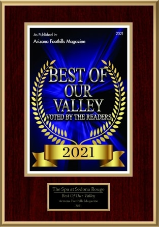 Best of our valley 2021 badge