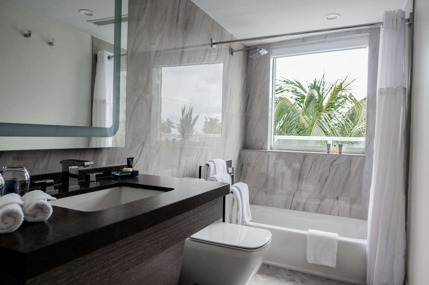 The Sagamore Hotel South Beach Penthouse Suite Washroom