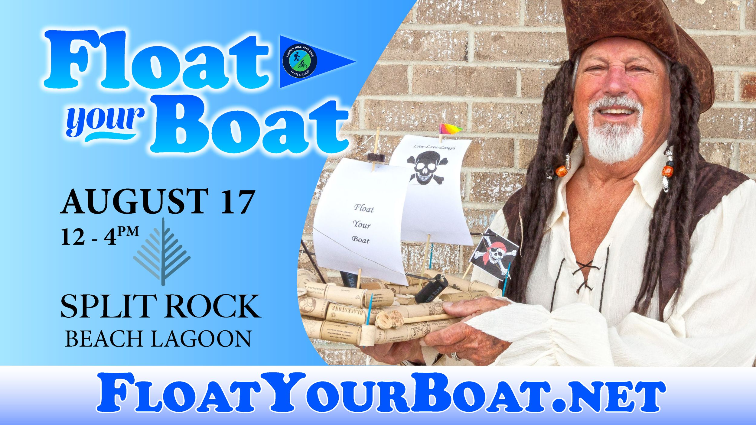 Float Your Boat Sails into Split Rock Lagoon August 17