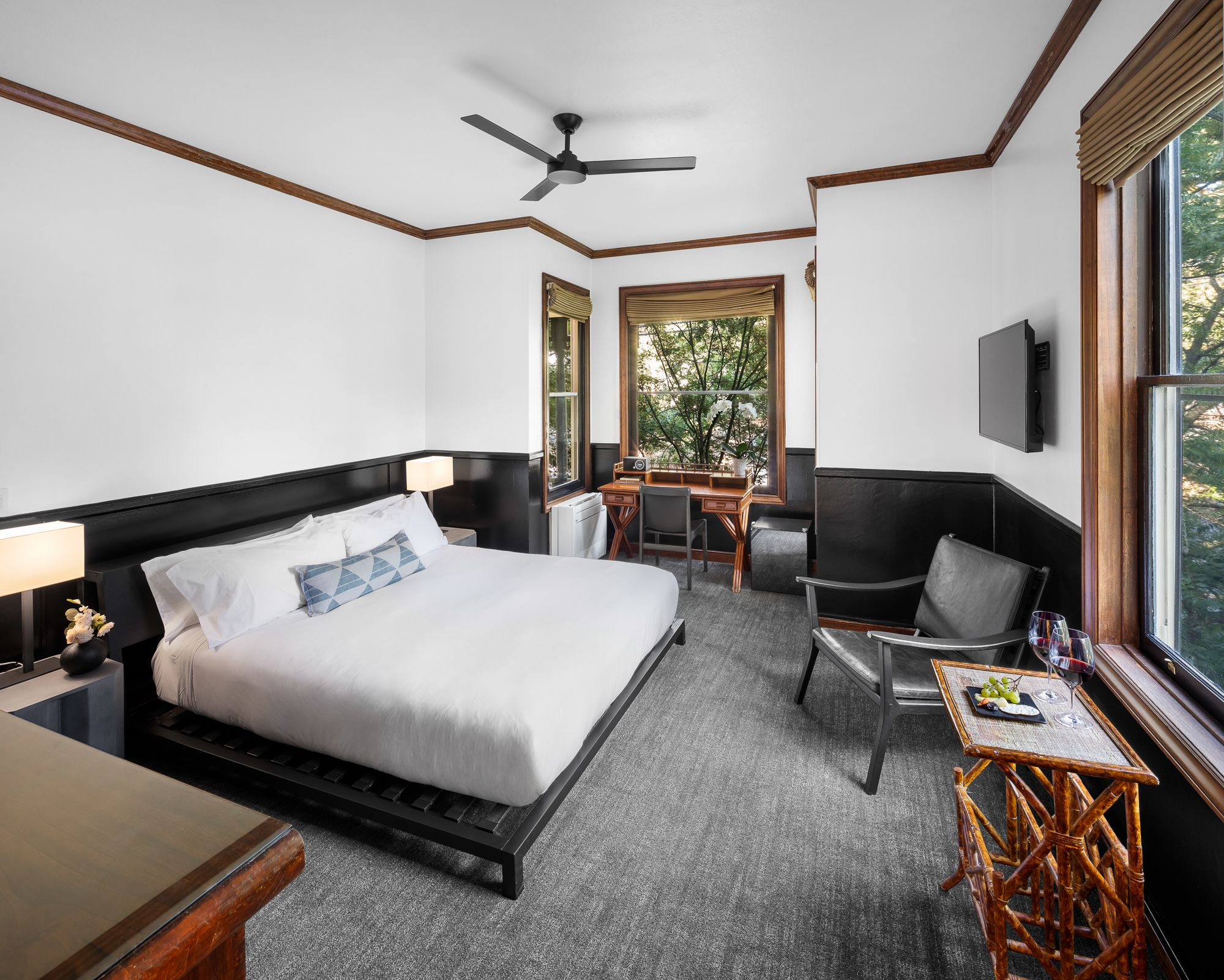 Deluxe King Guestrooms | Gaige House + Ryokan
