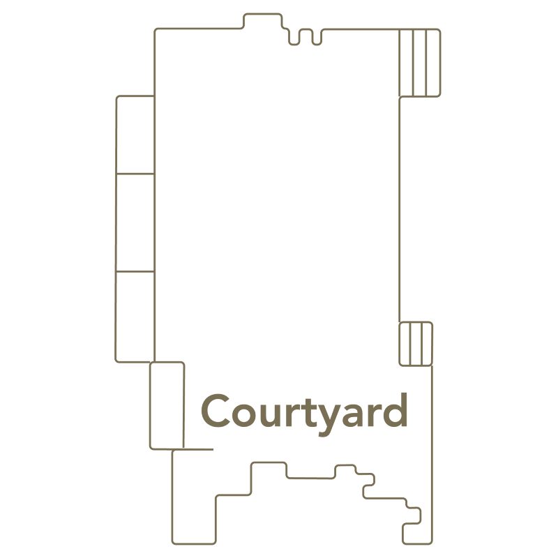 Toll House Courtyard Layout