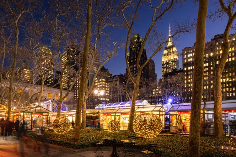 The Best of Bryant Park's Winter Village