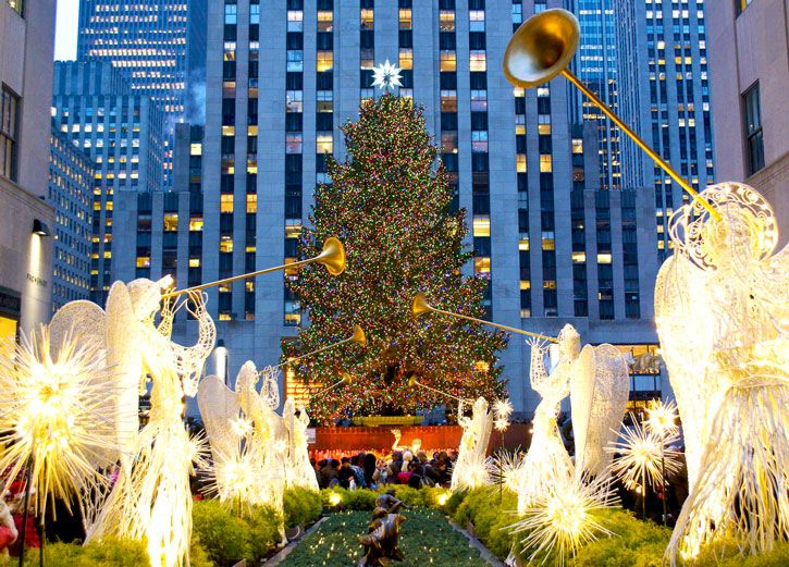 Tree Lighting Ceremonies in New York