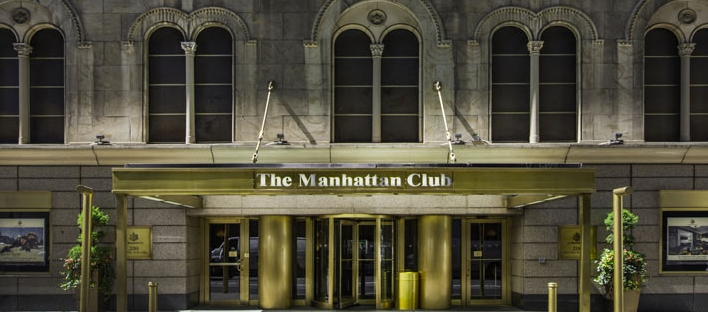 Manhattan Club Entrance