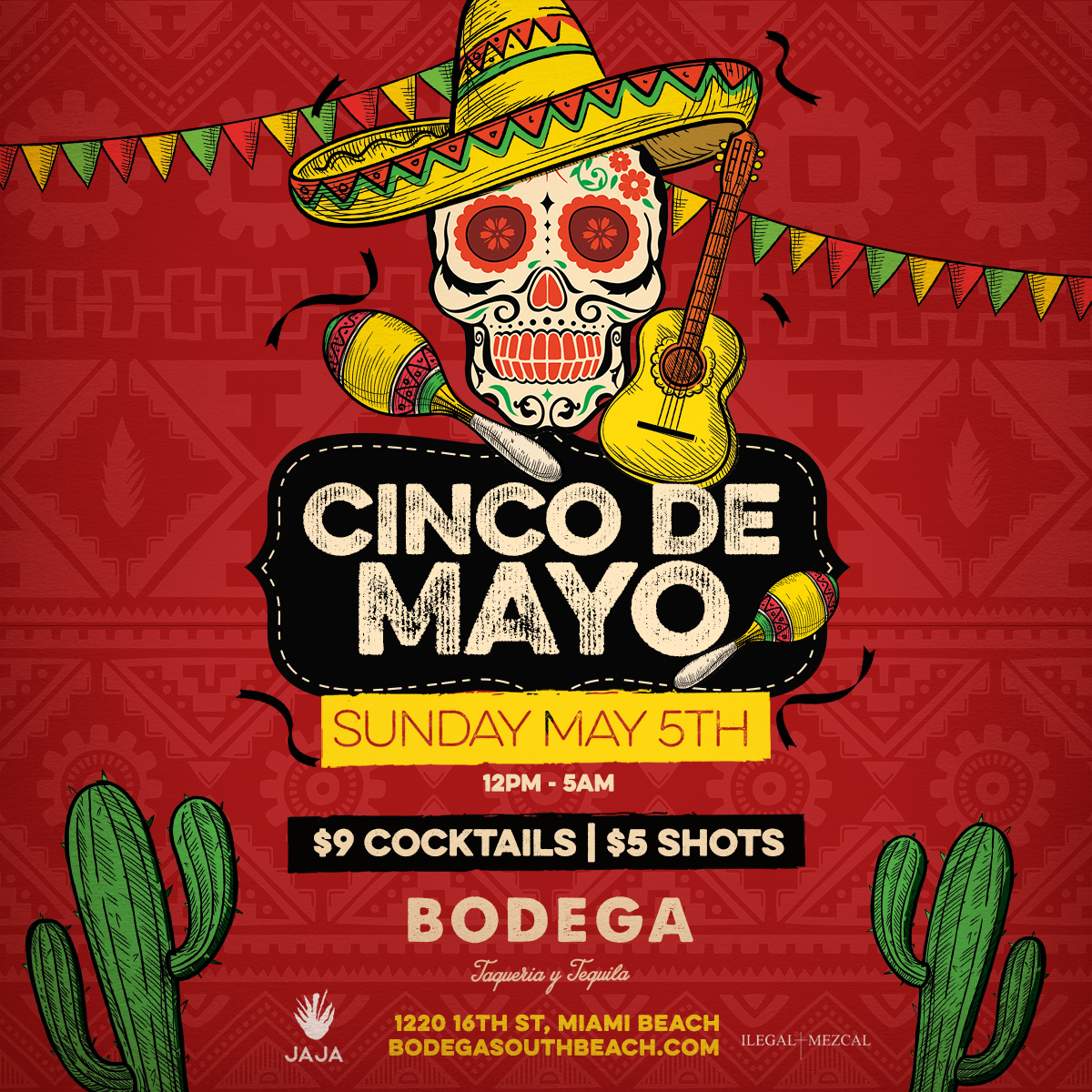 cinco de mayo, party, bodega south beach