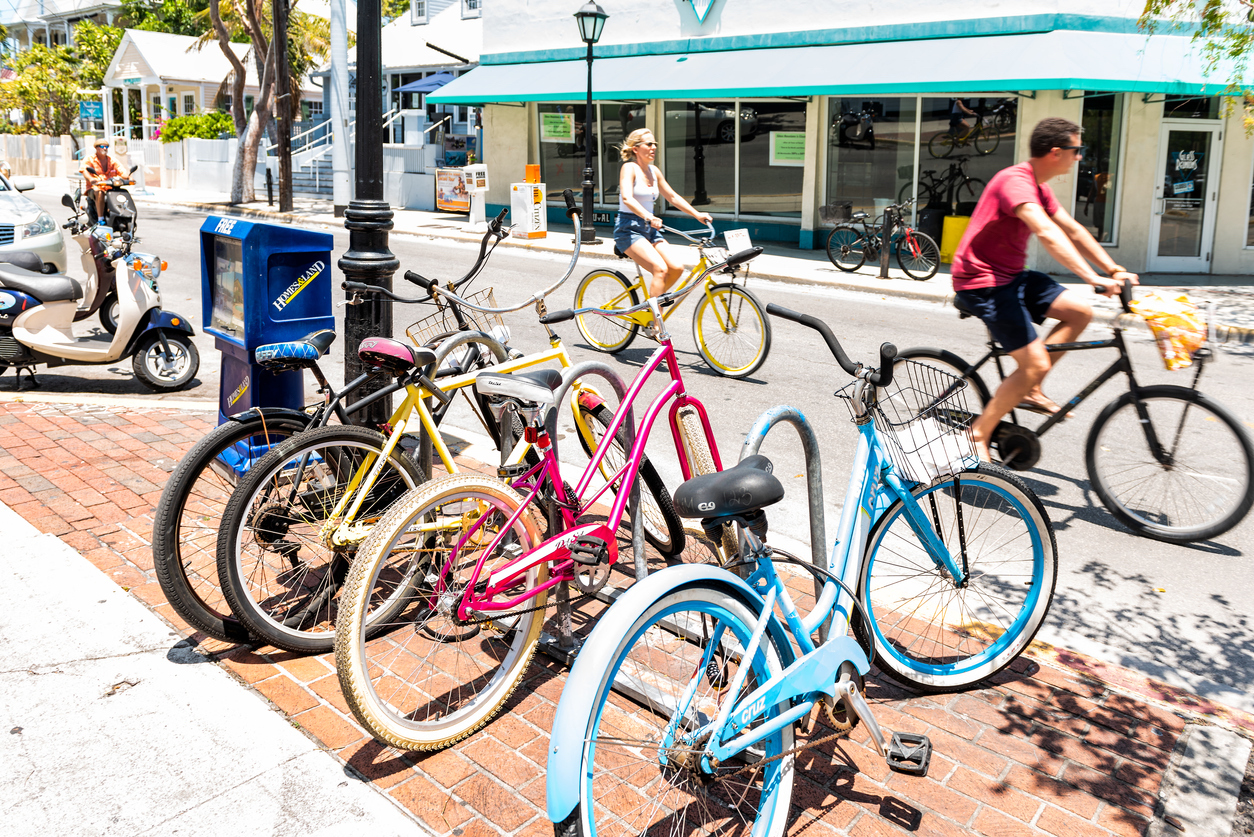 3 Great Bicycle Routes to Get a Feel for Key West