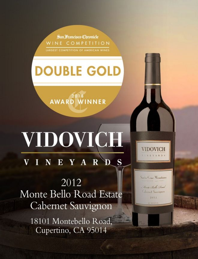 Vidovich Winery double gold winner 2018