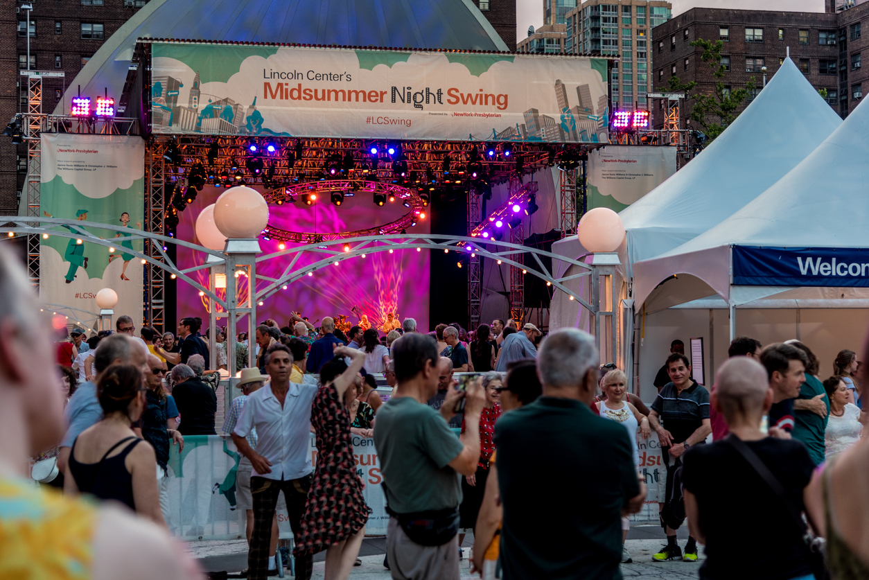 All About Midsummer Night Swing at the Lincoln Center blog image