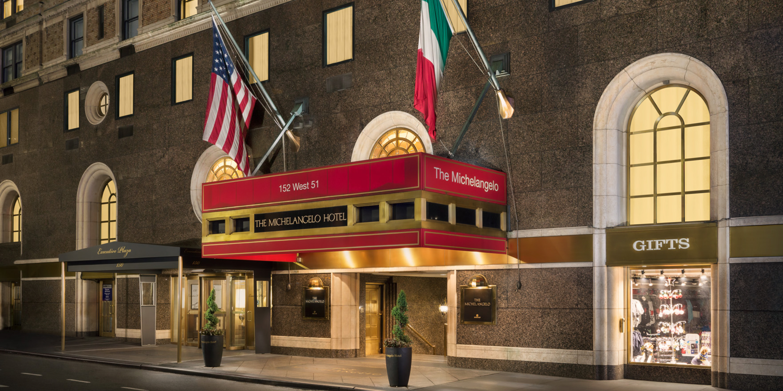 Hotel In Manhattan The Michelangelo Hotel Italian Inspired