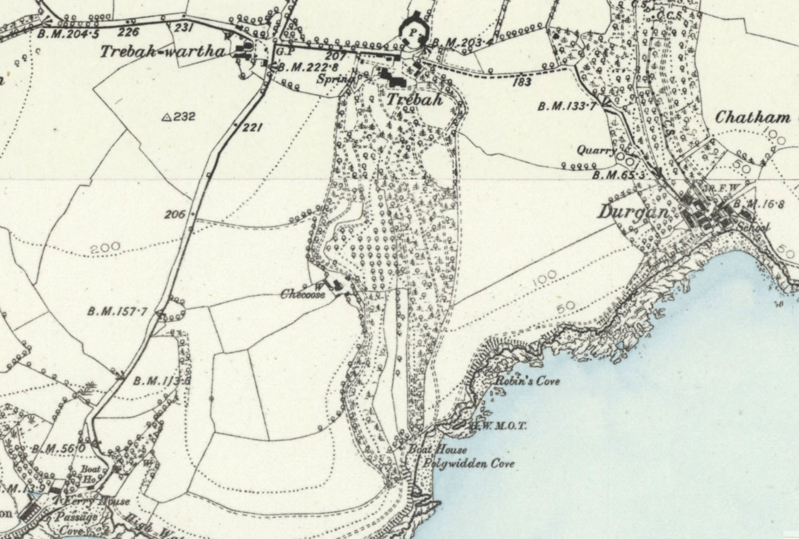 1888 os map of trebah