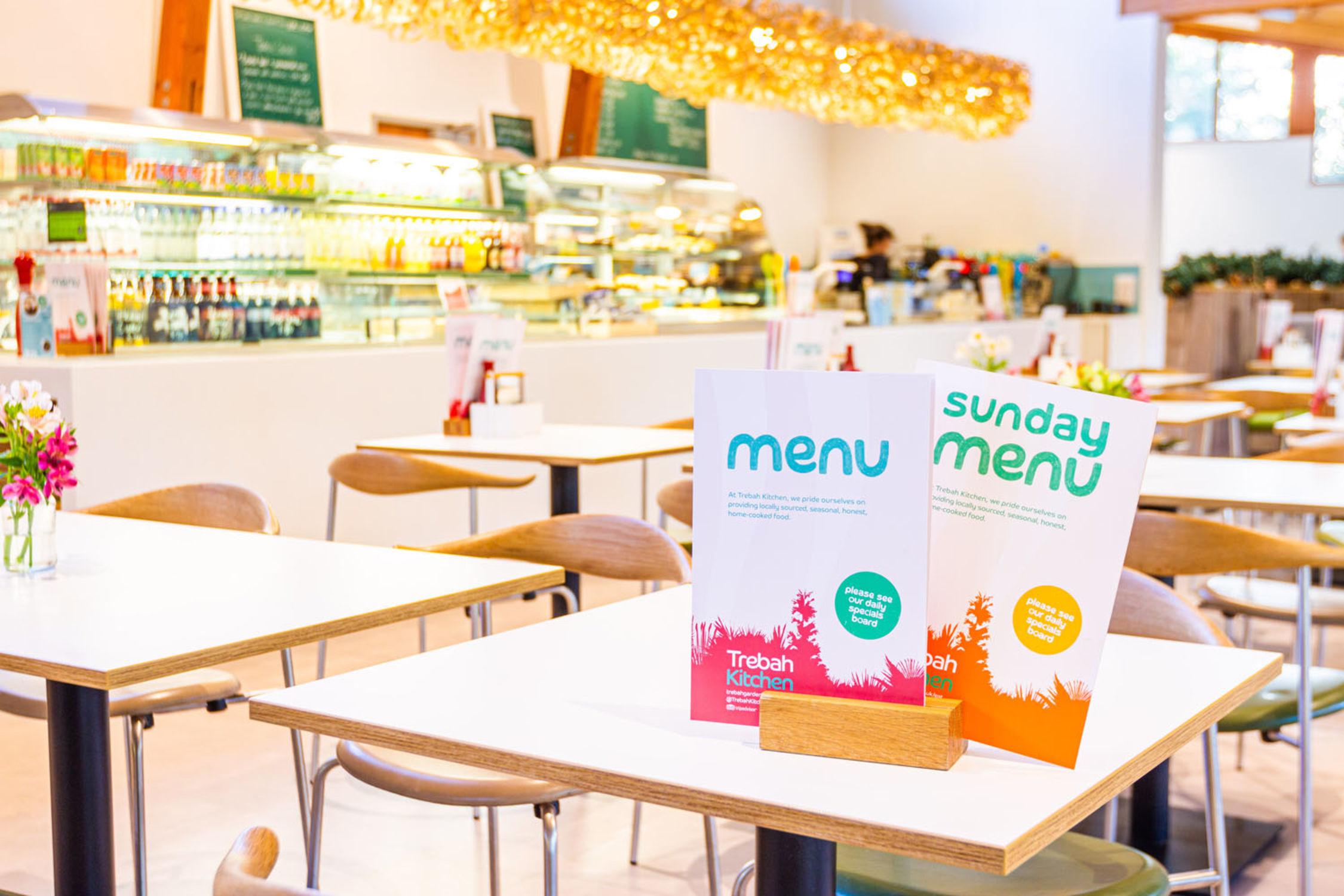 New Cafe Winter Menus