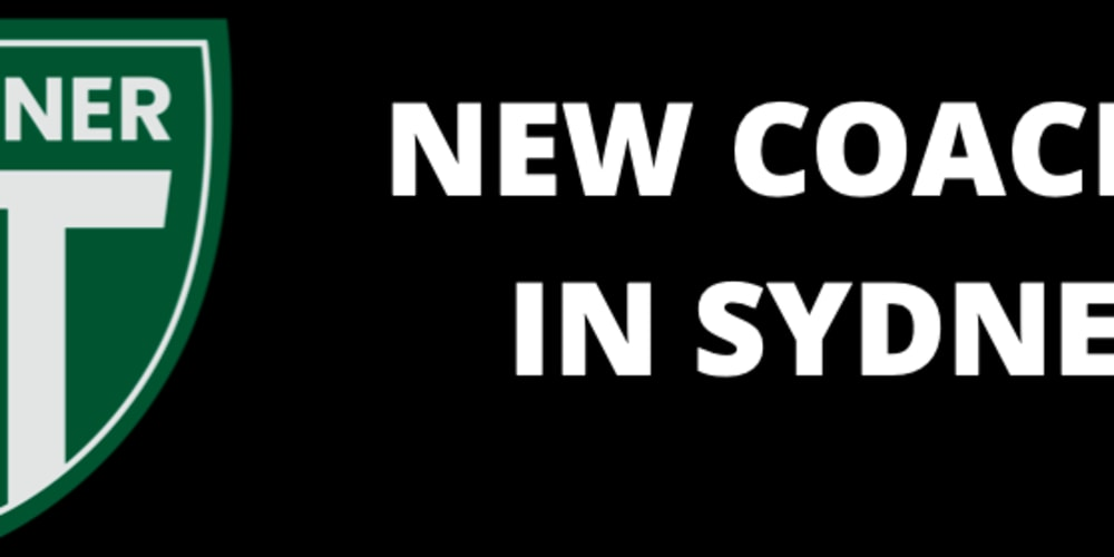 Our new coaches in Sydney