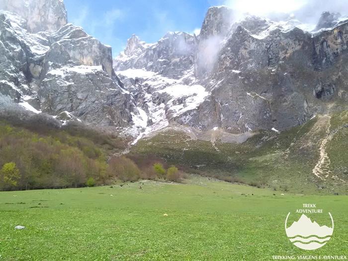 Á descoberta dos picos da Europa