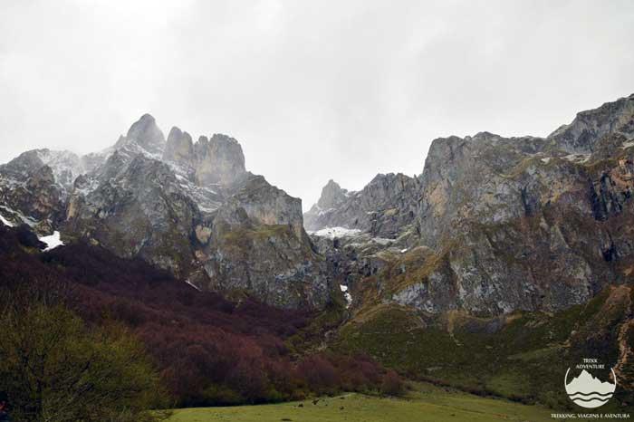À descoberta dos picos da Europa
