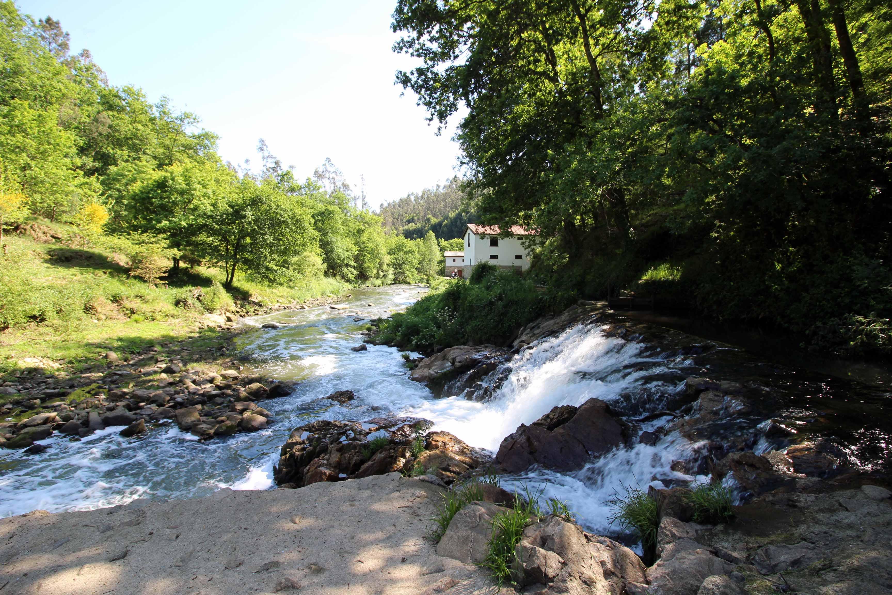 À descoberta dos moinhos de água