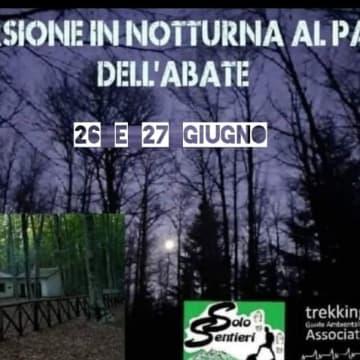 Evento: Escursione notturna al passo dell'Abate