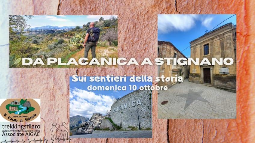 Da Placanica a Stignano: sui sentieri della storia