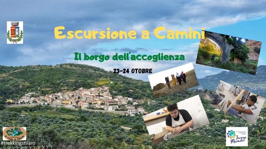 """Escursione a Camini """"Il borgo dell'accoglienza"""""""