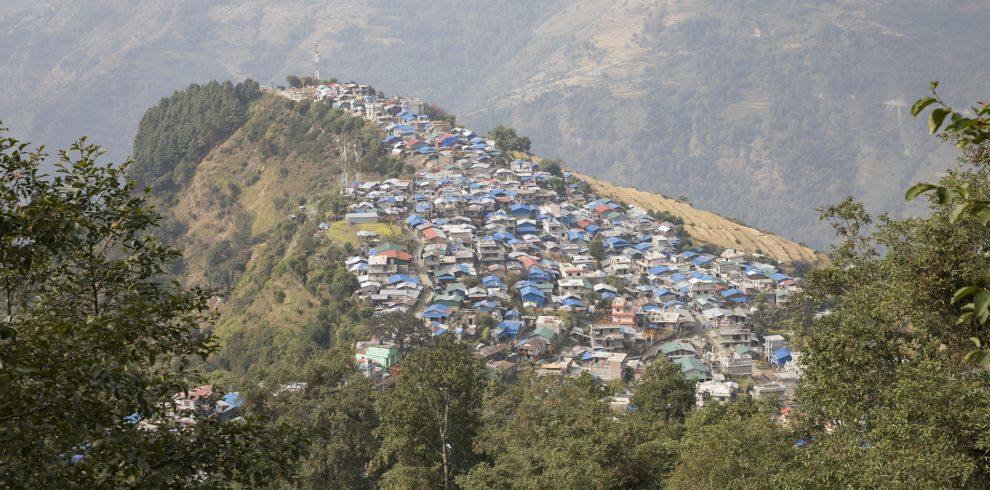Barpak village, 2018