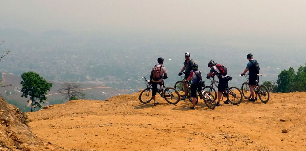 Mountain biking in Nepal   Shredding through high hills and himalayas.