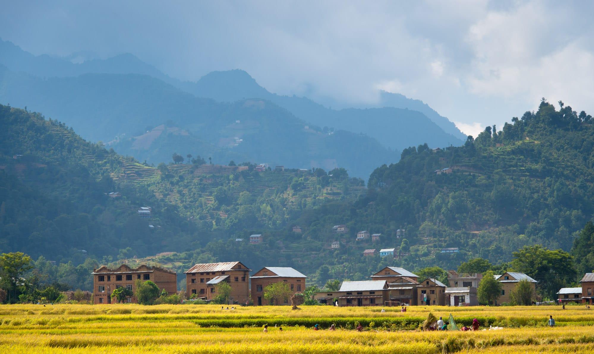 Balthali au Népal