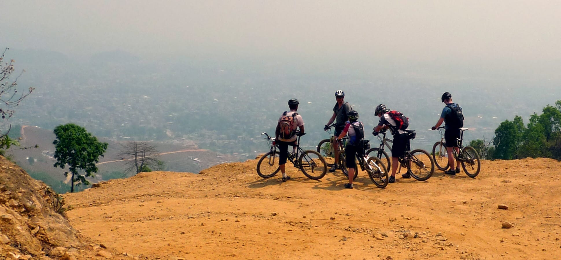 Mountain biking in Nepal | Shredding through high hills and himalayas.