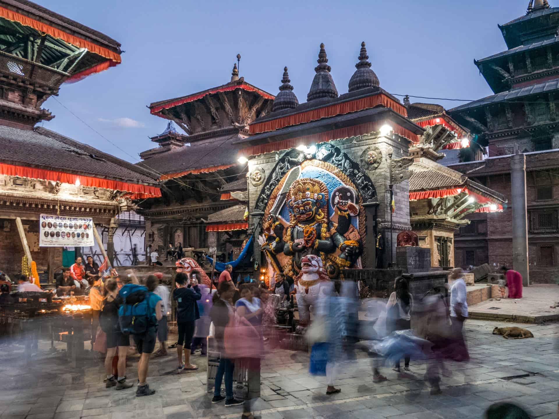 Kaal Bhairav, Kathmandu, Nepal
