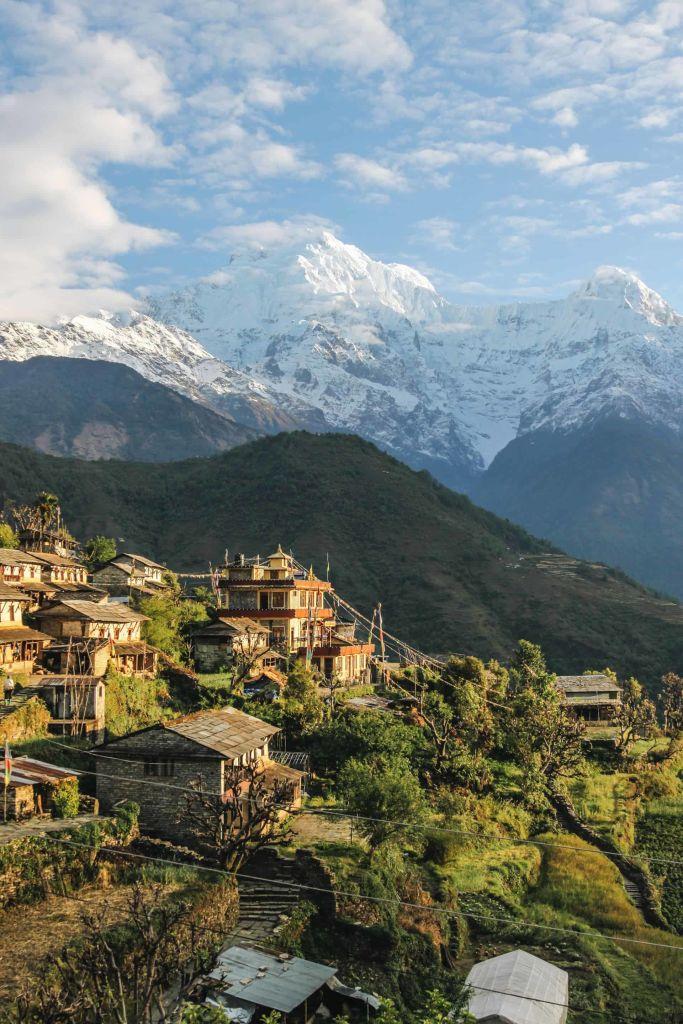 Annapurna, Narchyang, Nepal