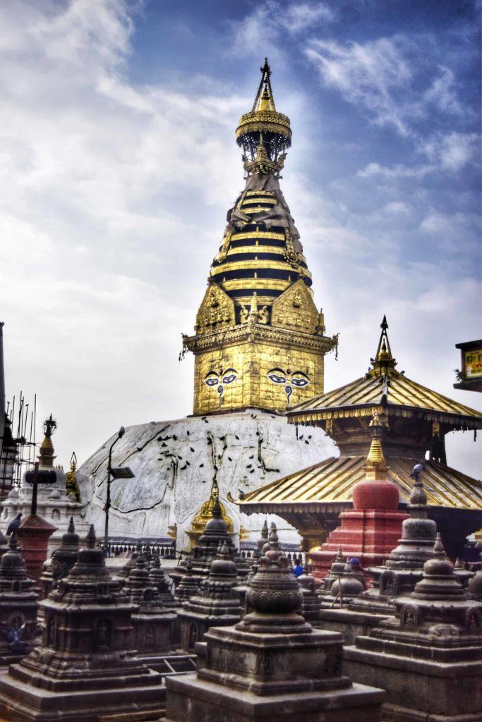 kathmandu hindu monkey temple