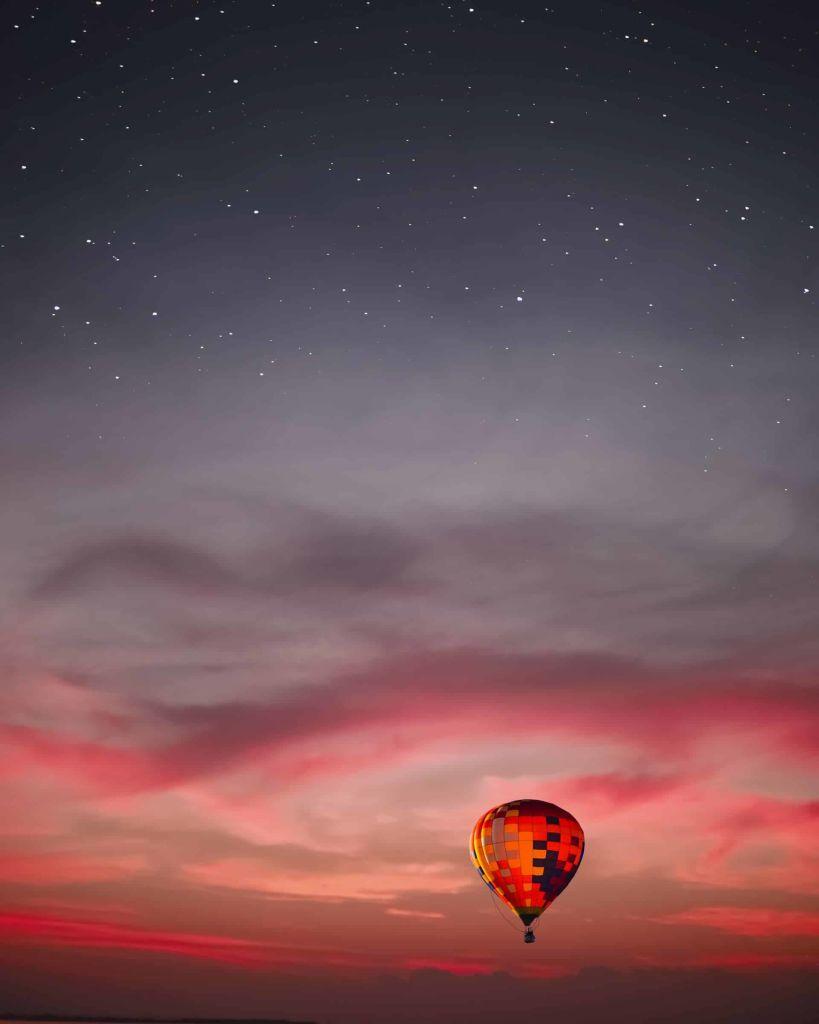 hot air ballooning in nepal