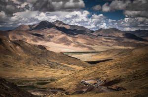 Tibet | The stunning topography of holy land Tibet and its periphery.