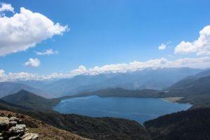 Rara National Park | Rara Lake as seen from the top of Murma Hill.