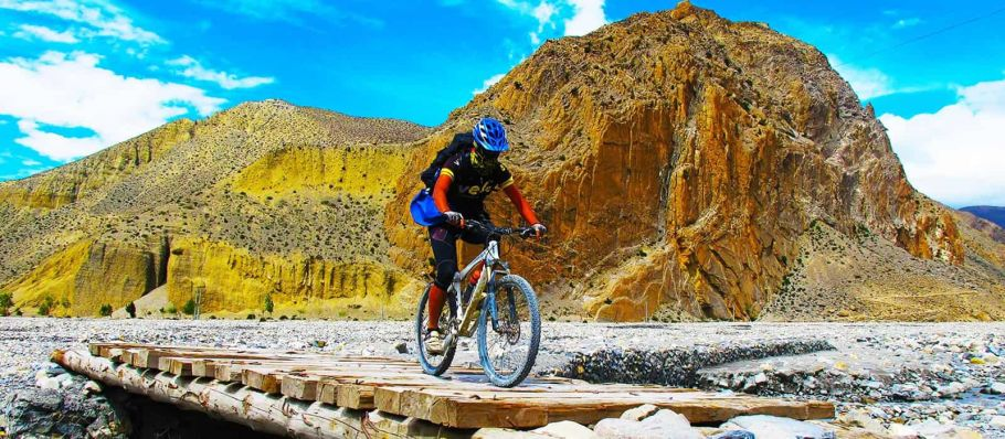 upper mustang mountain biking