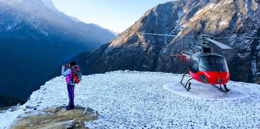 Luxury Everest Helicopter Tour