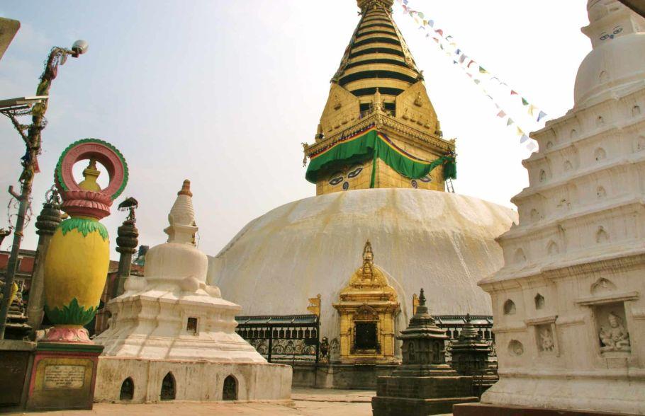 kathmandu durbar square stupa