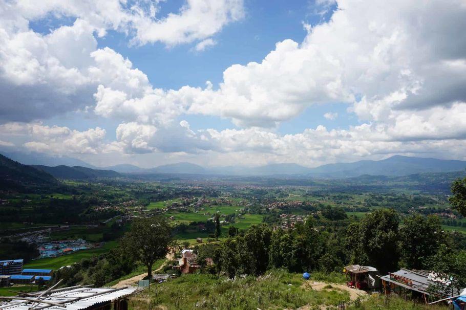 kathmandu valley village